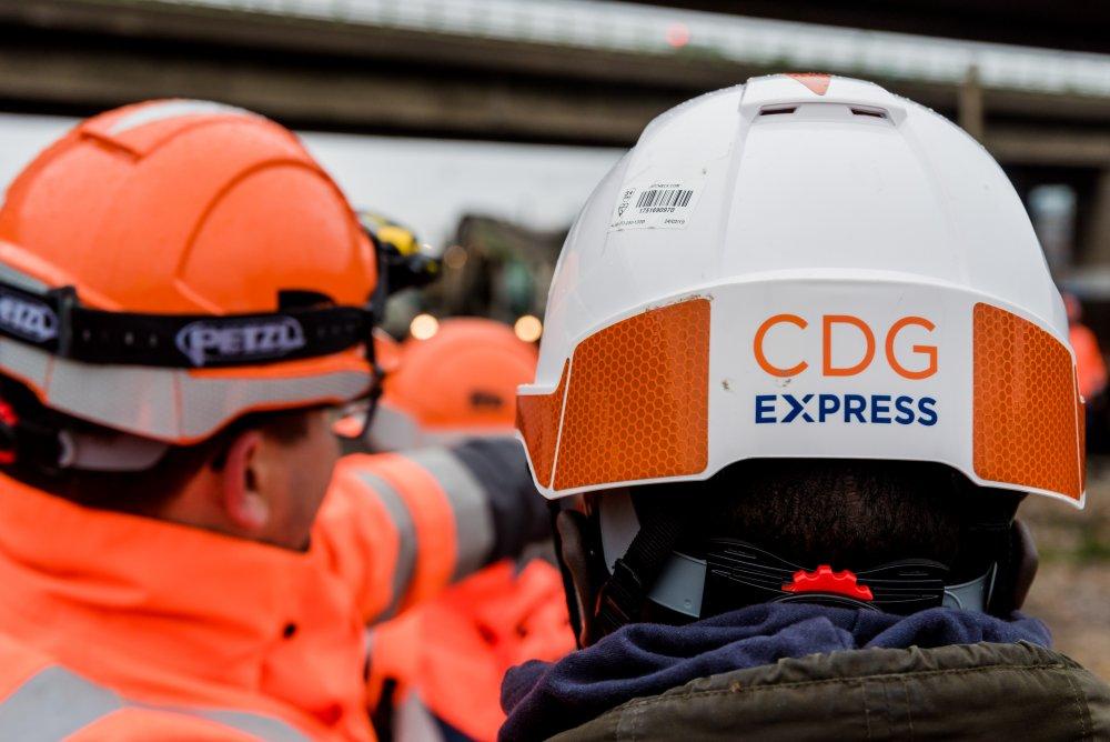 Travaux CDG Express par secteur