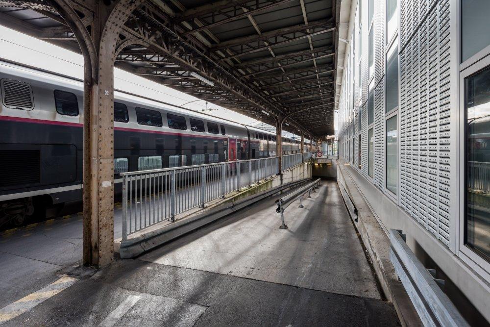CDG Express - Gare de l'Est - Accès souterrain