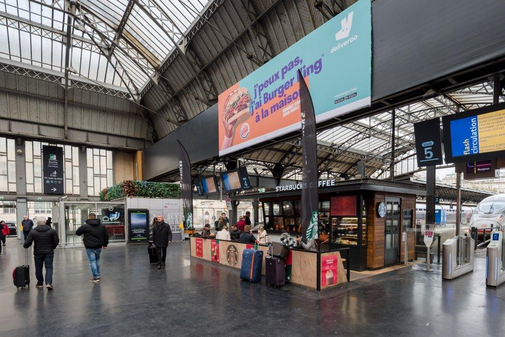 CDG Express - Gare de l'Est - Vue des quais
