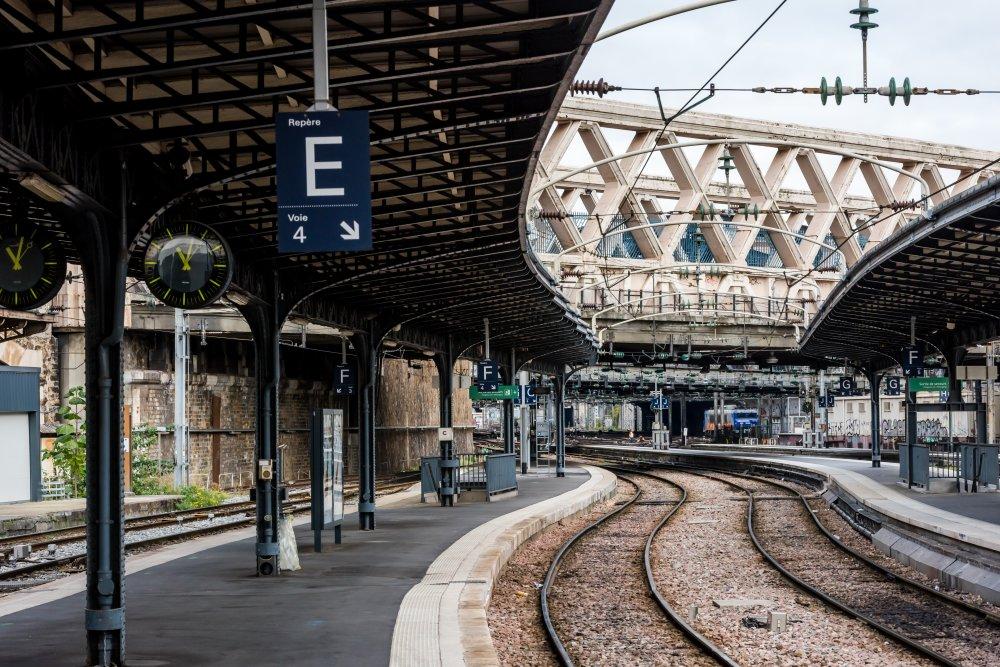CDG Express - Gare de l'Est - Vue du quai 1