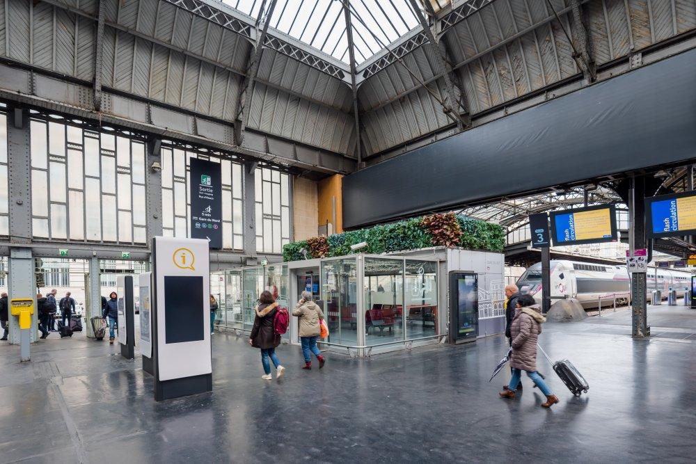CDG Express - Gare de l'Est - Fin des quais accueillant le CDG Express
