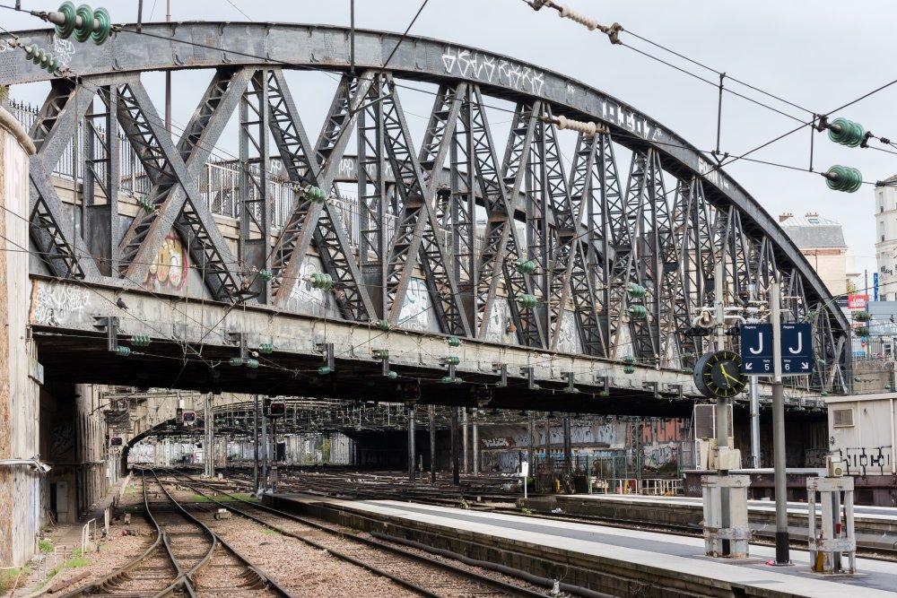 CDG Express - Gare de l'Est - Vue des quais 2