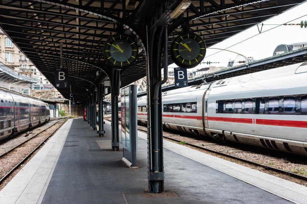 CDG Express - Gare de l'Est - Aiguillages