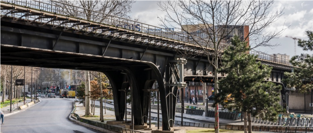 CDG Express - Pont Porte de la Chapelle