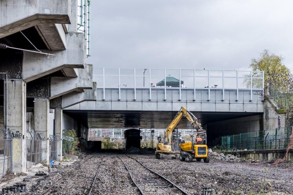 CDG Express - Renovation des voies pour le passage du CDG Express