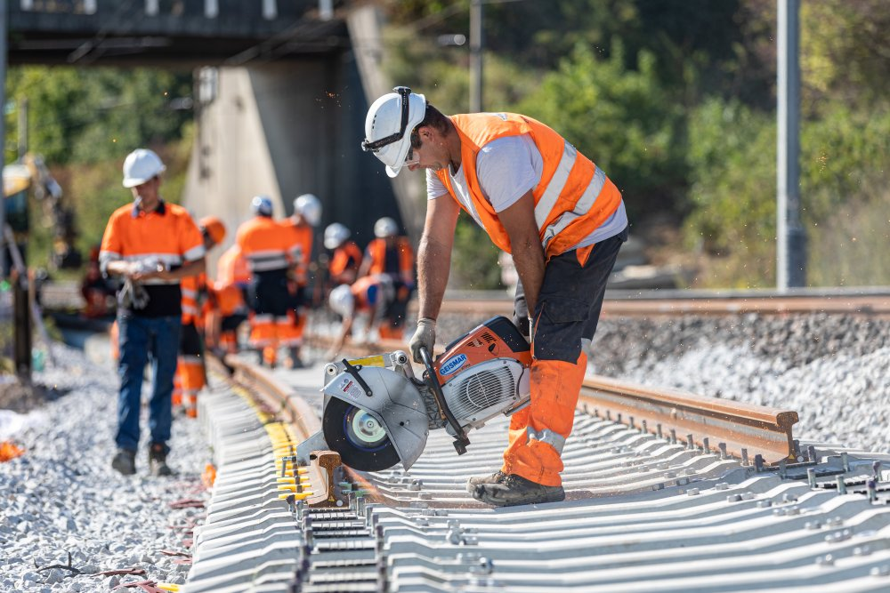 CDG Express - Construction d'une voie additionnelle