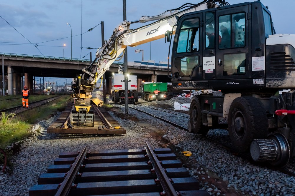 CDG Express - Raccordement de voies