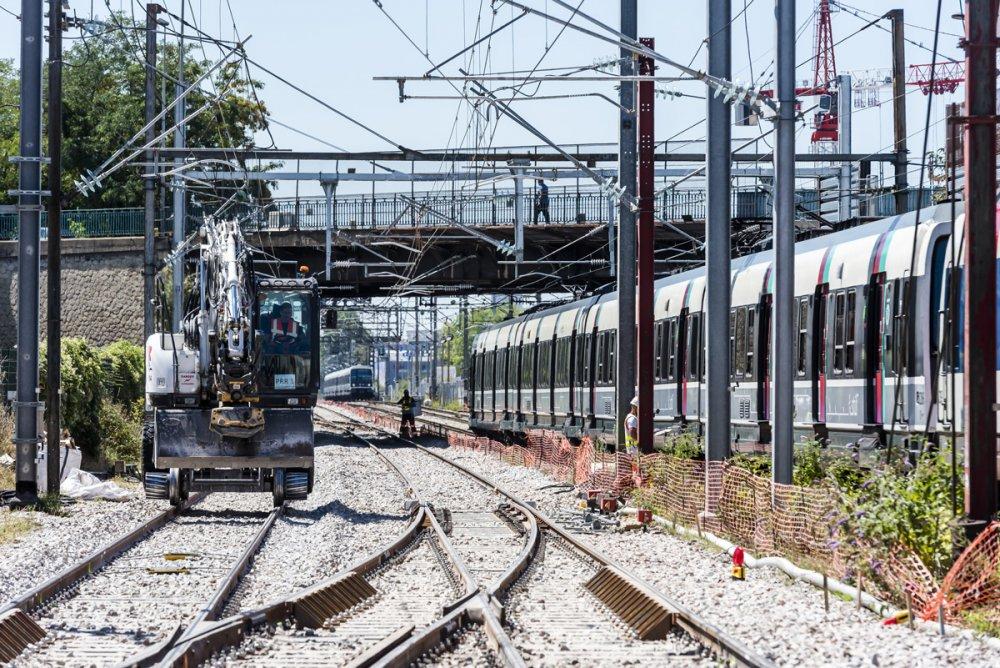 Travaux d'été 2020 CDG Express - Zone E