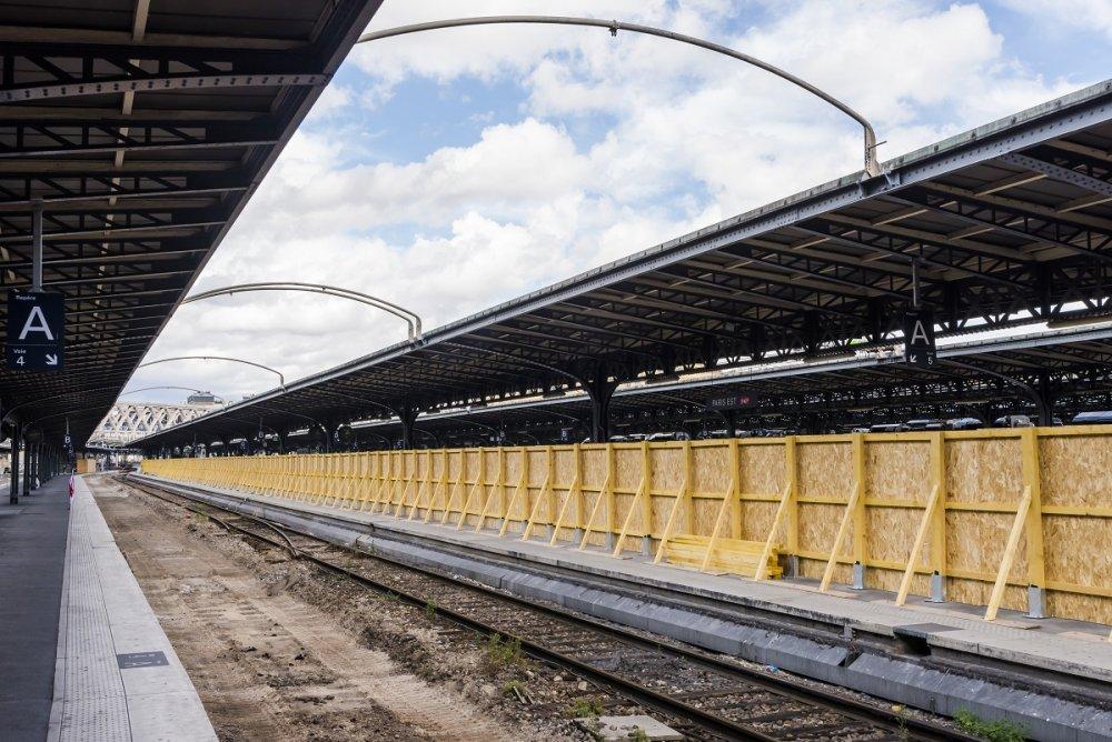 CDG Express - Travaux d'été - Gare de l'Est