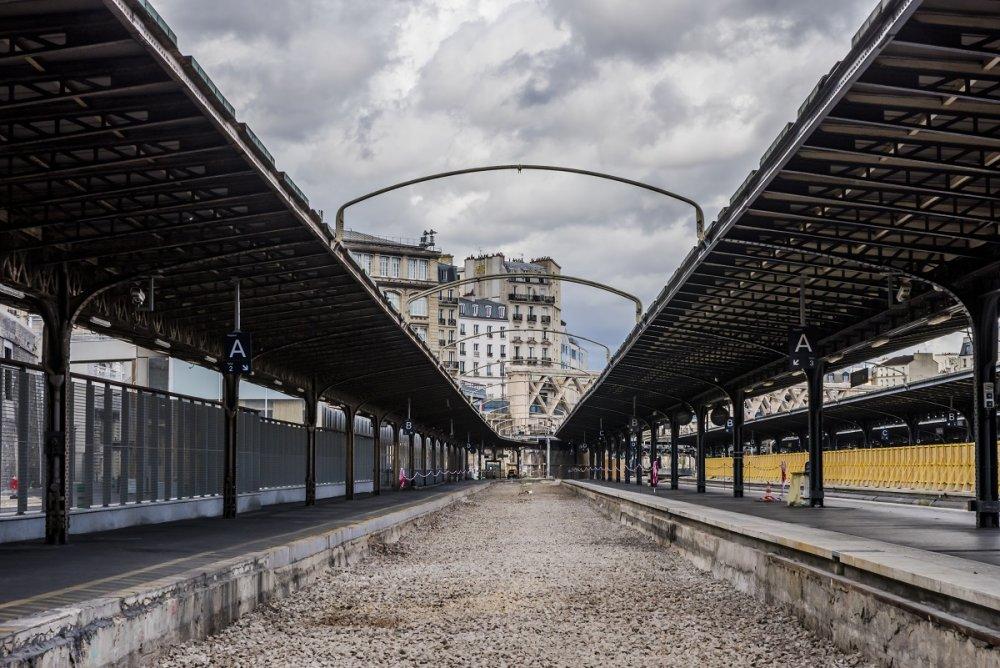 CDG Express - Gare de l'Est -Travaux d'été 2020
