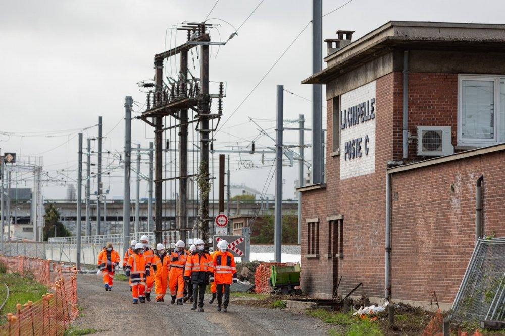 CDG Express - Les administrateurs sur le chantier