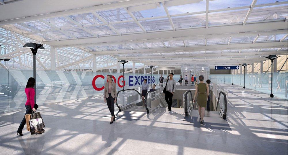 CDG Express - Gare aéroport CDG