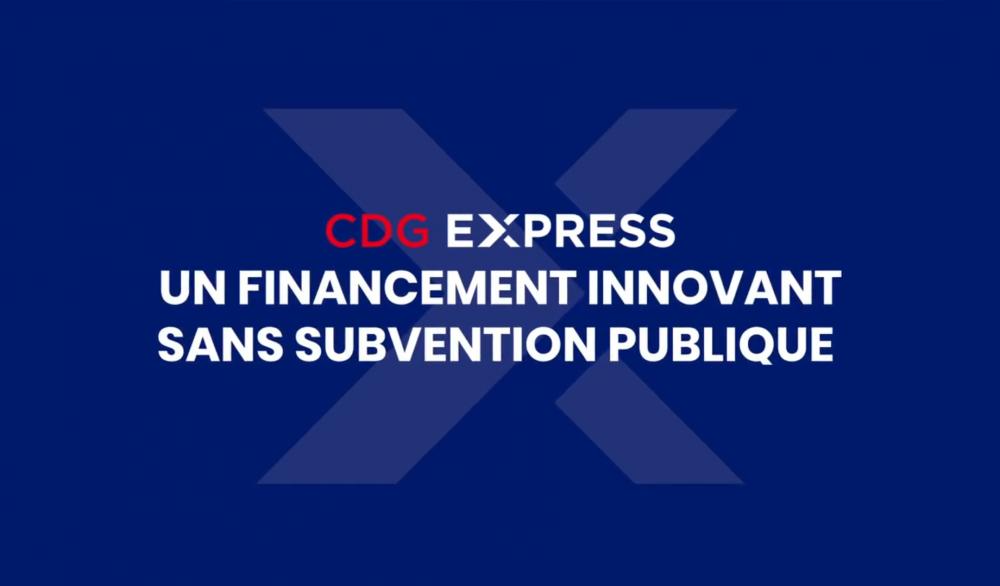 CDG Express - Financement